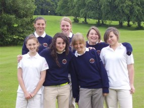 The 2007 RLCGA Kennedy Salver Team